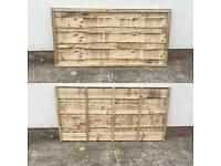 🍁Pressure Treated Heavy Duty Wayneylap Wooden Garden Fence Panels