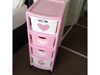Girls butterfly - Tower unit drawers
