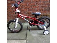 Mongoose boys bike 14 inch wheel in as new condition