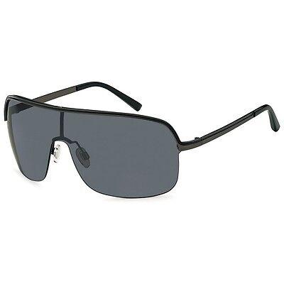 styleBREAKER Designer Sonnenbrille mit durchgängigem Glas, UV400 Schutz 09020008