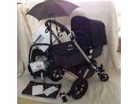 Bugaboo Cameleon 2nd Gen Travel System Grey & Black - Fab condition