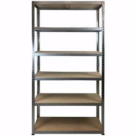 5 Bays Garage / Shed / Storeroom / Warehouse BOLTLESS SHELVING 175KG 1960X1000X400 (Galv) 6-SHELF