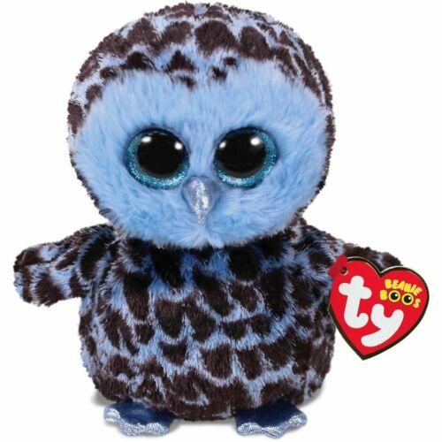 Ty Beanie Boos Owl -yago- 5 7/8in + Gift Bag
