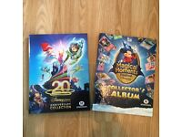 2 x Morrisons Childrens Special Edition Disney Collection Albums Books Full of Cards
