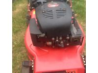 CHAMPION PETROL MOWER...LOW MILEAGE !