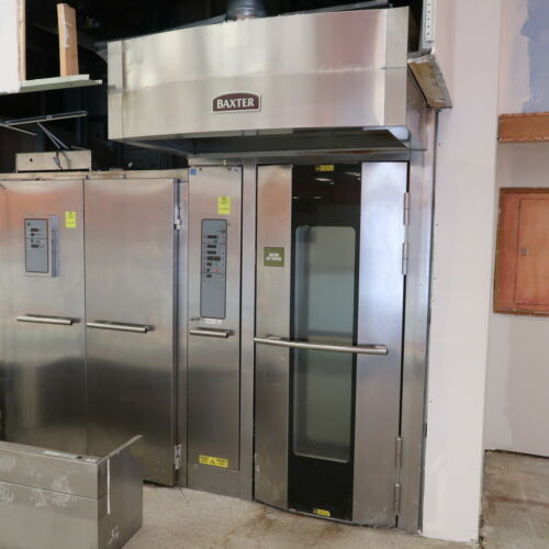 LATE MODEL BAXTER OV500G1-EE SINGLE RACK OVEN (GAS) (90 DAY GUARANTEE)