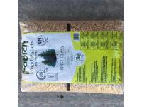 Wood pellets 65x15kg -210£ +vat
