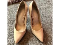 Nude high heels.Size 4 NEXT.