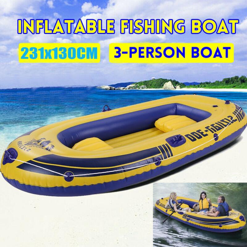 3 mariner inflatable raft river lake dinghy
