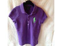 Ralph Lauren Polo Shirt - age 8-10yrs