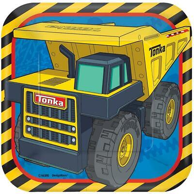 Tonka Truck Birthday (Tonka Truck Construction Dessert Plates Birthday Party Supplies 8 Per)