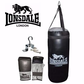 Lonsdale boxing set Unwanted gift not used