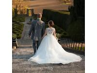 Alfred Sung Size 8 wedding dress RRP £1295