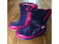 Girls Clarks Boots Size 7G