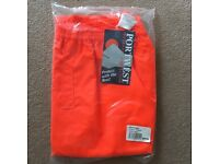 *NEW* Portwest Hi Vis Traffic Trousers RT31 LARGE