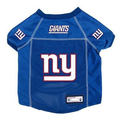 New York Giants Medium Pet Jersey [NEW] NFL Dog Puppy Shirt Clothes