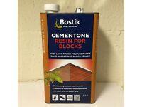 CEMENTONE RESIN FOR BLOCKS 5LT