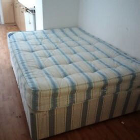double bed in very good condition can deliver