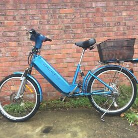 with charger 35 miles no tax no liscence no MOT no petrol aluminum fold-able electric disk brake