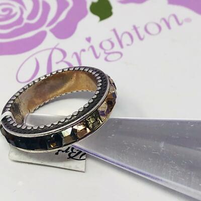brighton SPECTRUM  ring  size   9 NWoutlet tag   TOPAZ/BROWN/MULTI