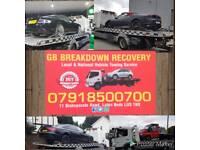 Breakdown Recovery towing service cars vans bikes jump start tyre change