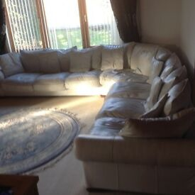 Sensational 8 seater sofa. Selling due to down sizing. Over £3000 new
