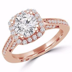 BAGUE DE FIANCAILLES À DIAMANT DE 1.25 CARAT / ENGAGEMENT RING WITH A 1.25 CARAT DIAMOND