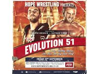 HOPE Wrestling Evolution 51: I Was Mickey Mouse, He Was The Big Bad Wolf