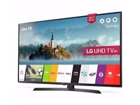 LG 49 INCH ULTRA HD 4K HDR PRO SAMART TV NEW NO BOXE