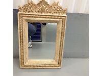 Beautiful beige mirror