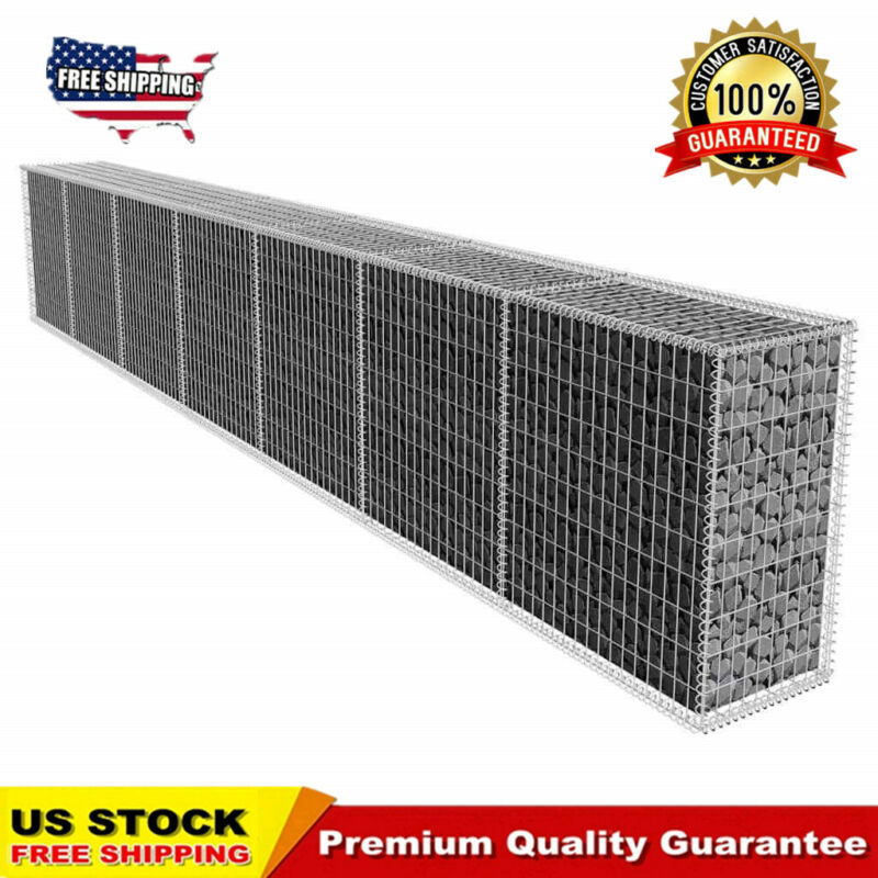 Gabion Wall with Cover 19.7