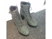 REAL leather Military style Boots!