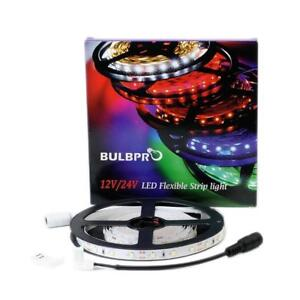 BulbPro Series LED Tape Lights / Flexible Strip Lights 12vDC White, RGB / 5v USB Input for Home / Commercial / Auto / RV