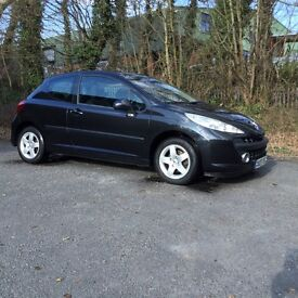 Peugeot 207 Sport 1.4 3dr '07 plate PRICE REDUCED