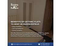 Benefits of getting flats to rent in Huddersfield