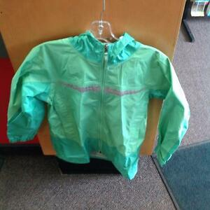 LL Bean Rain Coat 10-12 Green (SKU:TN8DKD)
