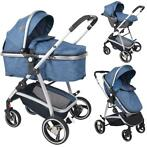 Lorelli Sola Dark Blue 3-in-1 Combi Kinderwagen incl. Aut.