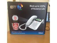 BT Decor 2600 Call Guardian corded phone & answer machine