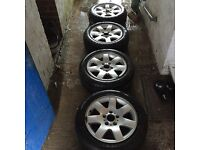 Bmw 320, 16inch alloys. Immaculate condition with GoodYear and Michellin tyres.