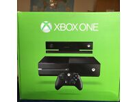 Boxed Xbox One 500g with 4 games 3 controllers
