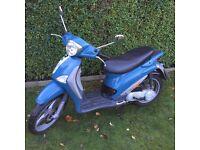 2004 PIAGGIO LIBERTY 50cc....5 MONTHS MOT