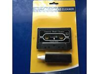 Brand new cassette head cleaning kit - never used item