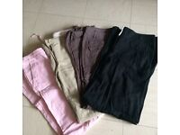 Bundle of ladies trousers size 10
