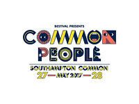 Common People Festival- adult day tickets x2 for Sunday 28th May 2017