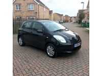 TOP SPEC TOYOTA YARIS TR 1.0 BLACK, LONG MOT APRIL 2017, LADY OWNER, HPI CLEAR