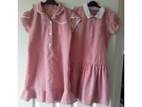 Excellent condition, Age 7-8 summer dresses.£3 each or both £5. One dress has zip,other has buttons.