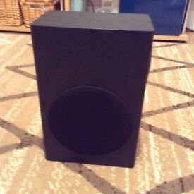 Orbit sound woofer with all leads and remote. NEW