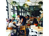 Full-time Chef at White's Botanicals in central Bristol