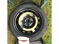 HANKOOK S300 Space Saver Spare Wheel 5x112 (Brand New)