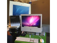 "Apple 20"" iMac 3Gb RAM, 500Gb HDD, 2.33Ghz Core 2 Duo + M-audio FW interface + Logic Pro 7 DAW"